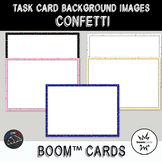 Confetti Backgrounds for digital task cards - Boom Cards™