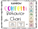 Confetti Behavior Chart