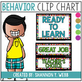 Behavior Clip Chart (Traditional Wording)
