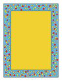 Confetti Border Yellow