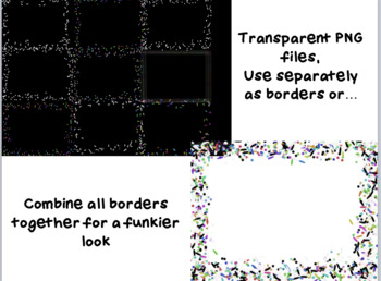Confetti Borders