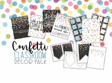 Confetti Classroom Decor Pack