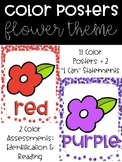 Confetti Color Posters with Color Assessments