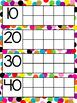 Confetti Days in School Calendar Ten Frame