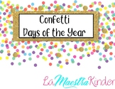Confetti Days of the Year