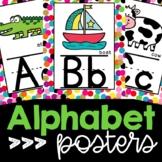 Confetti Decor Alphabet Posters