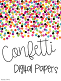 Confetti Digital Papers