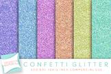 Confetti Digital Papers, Glitter Papers, Digital Glitter,