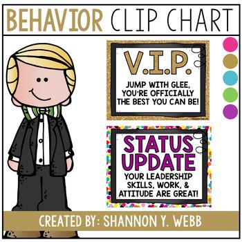 Behavior Clip Chart (New Wording)