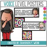 Confetti Voice Level Posters