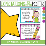 Confetti Expectations for Living Posters