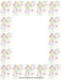 Confetti Framed Paper
