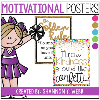 Confetti Motivational Posters