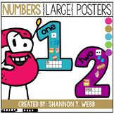 Confetti Number Posters (1-20)