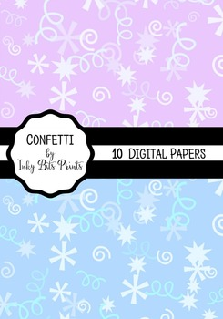 Confetti Paper Pack - Party Theme