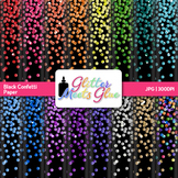 Confetti Paper | Scrapbook Backgrounds for New Year's and