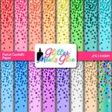 Confetti Scrapbook Paper Backgrounds 3 {Glitter Meets Glue}