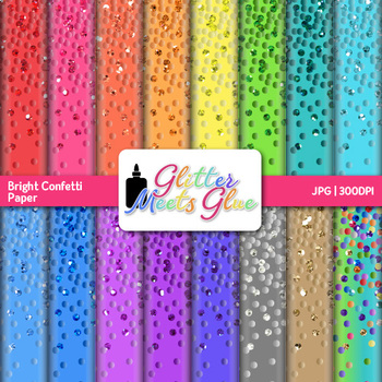 confetti scrapbook paper backgrounds for new years and birthday resources 4