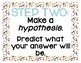 Confetti Posters- Scientific Method