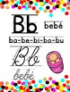 Confetti Spanish ABC (manuscript and cursive)