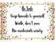 Confetti Themed Classroom Rules