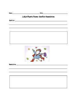 Confict Resolution Worksheet