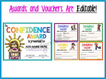 CONFIDENCE Character Education Packet