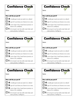 Confidence Check Tickets ( Free )