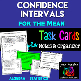 Confidence Intervals for the Mean- Statistics, AP Statistics