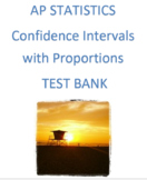 Confidence Intervals with Proportions Review #2 (Examview)