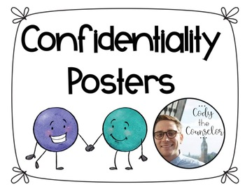 Confidentiality Posters