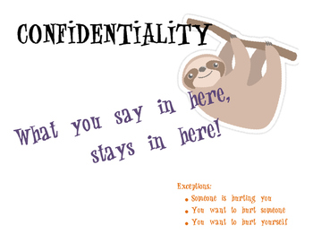 Confidentiality Sign