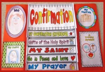 Confirmation BUNDLE ~ Lap Book, Pentecost, Sacrament, Religion