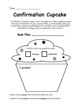 Confirmation Cupcake