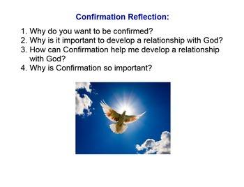 Confirmation Preparation Lesson Outline