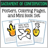 Confirmation - Sacrament Posters, Coloring Pages, and Mini