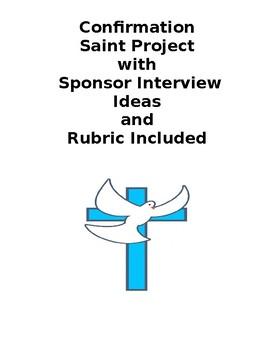 Confirmation Saint Project