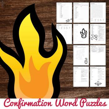 Confirmation Word Puzzles : No Prep Catholic Activity