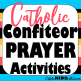 Confiteor Prayer Lesson Packet: Maze, Handwriting, Vocabulary, Comprehension