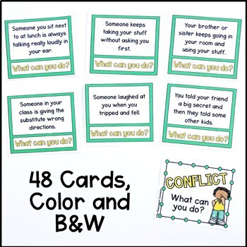 Conflict Resolution Task Cards