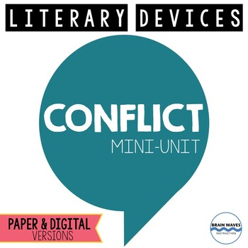 Conflict Mini-Unit:  3 fun lessons to help students unders