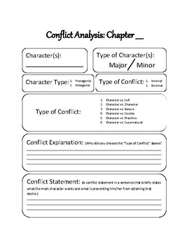 Analyzing Conflict