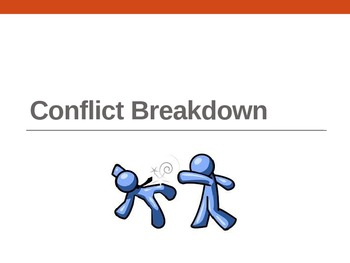 Conflict Breakdown - dissecting conflict in any story