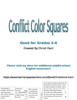 Conflict Color Squares