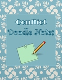 Conflict Doodle Notes