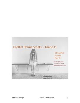 Conflict Drama - Grade 11 Scenes - Set 2