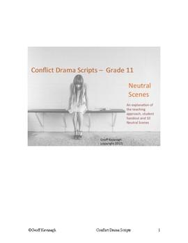 Conflict Drama Scripts - Grade 11 Neutral Scenes