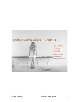 Conflict Drama - Grade 11 Scenes - Set 1