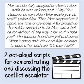 Conflict Escalator Lesson Plan