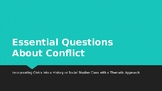 Conflict Essential Questions for a Social Studies Class